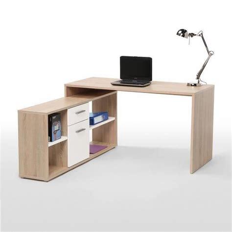 finlandek bureau d angle ty 214 140cm ch 234 ne blanc achat vente bureau ty 214 bureau d angle 140 cm