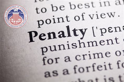 bureau of industry and security bis bureau of industry and security revises penalty guidelines
