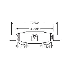 peachtree sliding patio door panel tandem roller