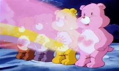 Care Bear Bears Stare Carebear Gifs Power