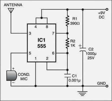 Low Range Radio Transmitter Circuit Diagram