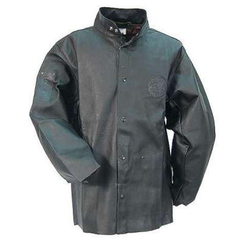 Black Stallion Welding Jacket- Premium DURALite Black Pigskin