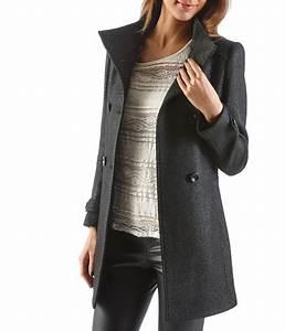 Enduit Interieur Pas Cher : manteau cama eu manteau femme en lainage enduit ventes ~ Premium-room.com Idées de Décoration