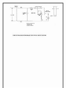 Brake Test On Dc Shunt Motor