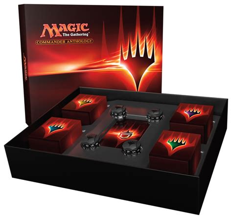 premade commander decks 2012 magic commander anthology product details announced