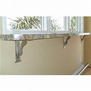Table brackets, countertop supports, bar supports and