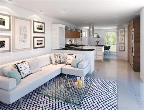 kitchen living room design open kitchen and living room design ideas