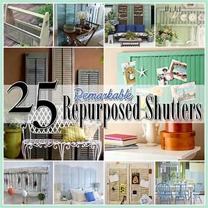 25, Repurposed, Shutter, Ideas