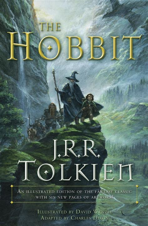 hobbit graphic   jrr tolkien  fully