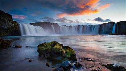 Waterfalls Landscape Iceland Resolution Wallpapers13