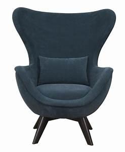 fauteuil a oreilles contemporain ida hamilton conte With chaise fauteuil contemporain