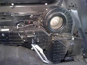Rear Heater Blend Door