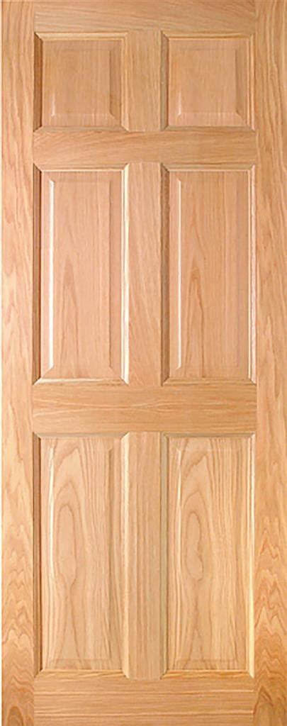 hartford pre finished oak  panel interior door