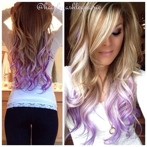 colored tips colorful tips dip dyed hair