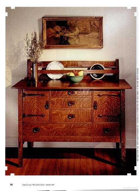 american woodworker stickley style sideboard sideboard