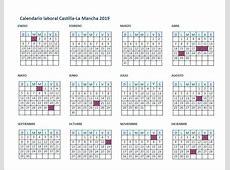 El calendario laboral de CastillaLa Mancha para el año