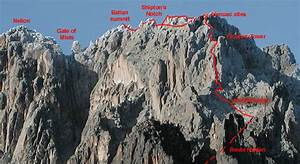 Mount Kenya techinical climb on north face standard route ...