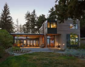 green home designs modern home in bainbridge island with sustainable features