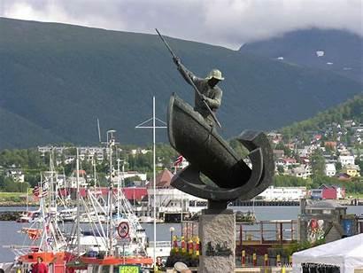 Tromso Norway Map Google Statue Norvege Statues