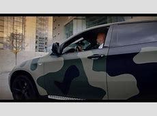 foilack military car wrap BMW X6 YouTube