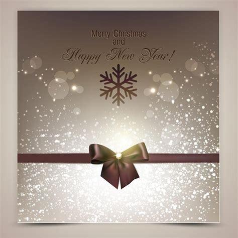 Free vector elegant background christmas invitation card