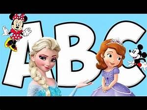 ABC Alphabet Song - Disney Frozen Music for Kids - Baby ...
