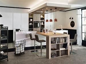 table bar pour cuisine ouverte cuisine idees de With idee bar cuisine ouverte