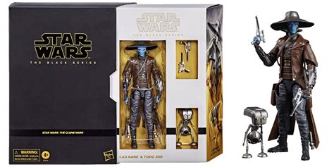Black Series Cad Bane And TODO 360 Revealed