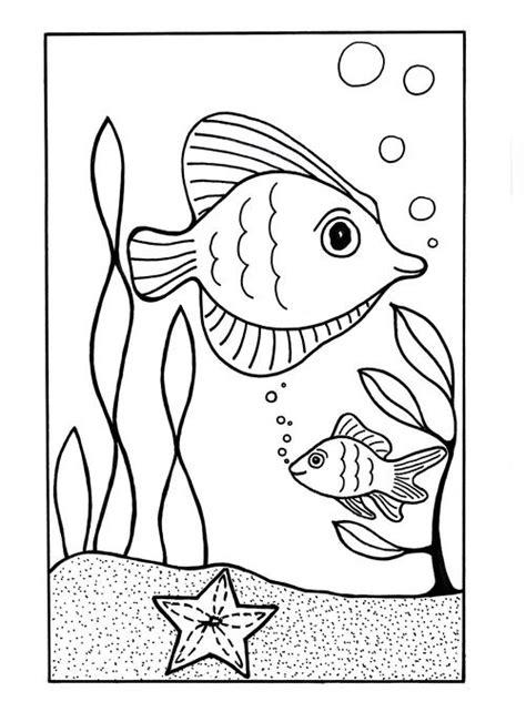 sea coloring page allfreekidscraftscom