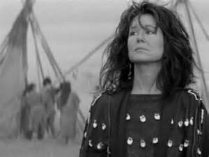 Mary McDonnell Stands with Fist