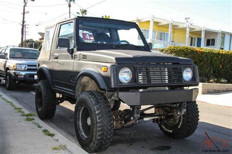 1986 Suzuki Samurai 1.6l Efi 4x4 Off Road Rock Crawler