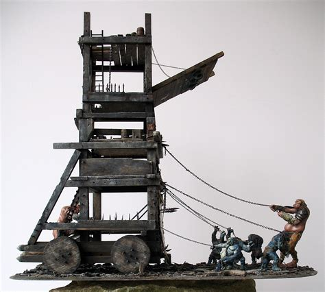 siege warfare coolminiornot siege tower by egil skalligrimson
