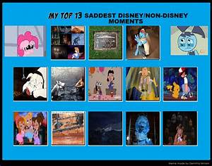 My Top 13 Saddest Disney/Non-Disney Moments by ...