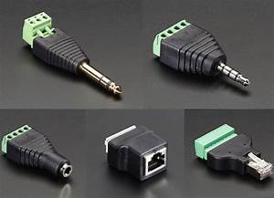 New Products  U2013 Terminal Blocks  U2013 1  4 U2033  6 35mm  Stereo Plug