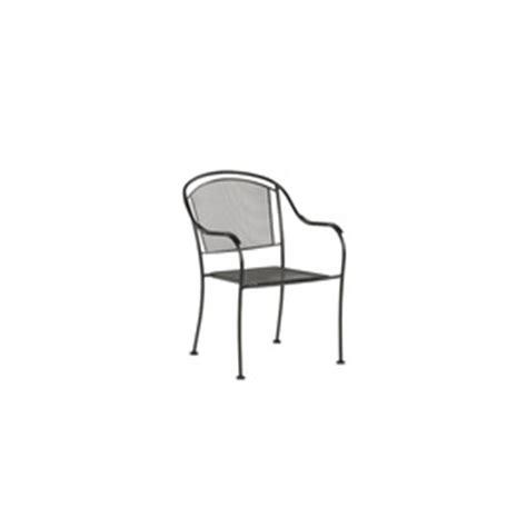 buy garden treasures 195 194 davenport black mesh seat wrought