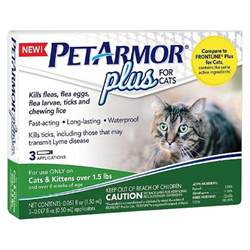 cat flea medicine petarmor 174 plus flea and tick topical treatment for cats
