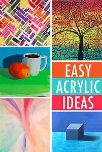 Easy Painting Ideas: 6 Acrylic Subjects for Beginners