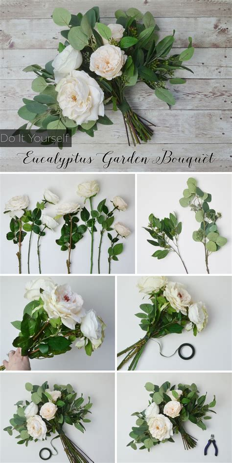 Diy Eucalyptus Bouquet Bridal Bouquets Wedding