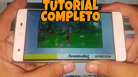 tutorialfortnite mobile android apk mod como baixar