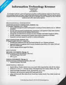 information technology resume layouts exles of hyperbole information technology it resume sle resume companion