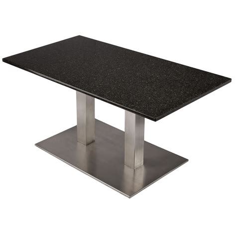 stainless steel pedestal table base 854
