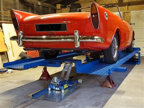 Good Car Ramps For Diy E-type Servicing?