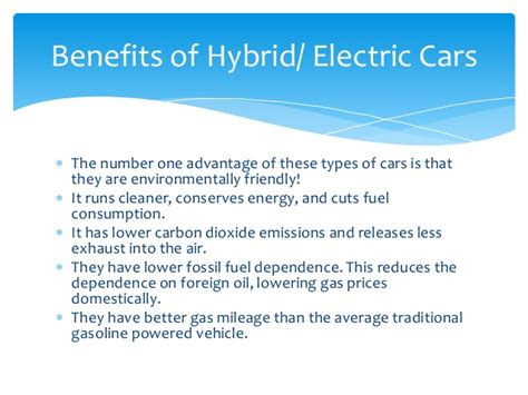 Advantages Of Hybrid Electric Vehicles Driverlayer