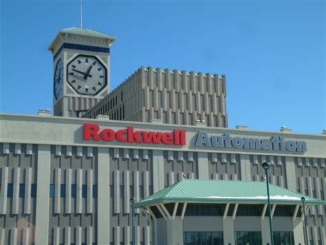 Rockwell Automation Headquarters and Allen-Bradley Clock ...