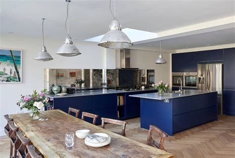 Blue Kitchen Ideas by 24 Blue Kitchen Cabinet Ideas To Breathe Into Your