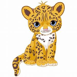 Leopard cliparts