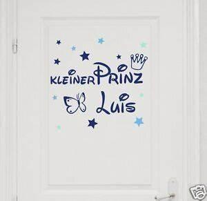 Wandtattoo Kleiner Prinz : wandtattoo t raufkleber mit name kleiner prinz ~ A.2002-acura-tl-radio.info Haus und Dekorationen