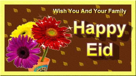 happy eid greeting card video greeting ecard youtube