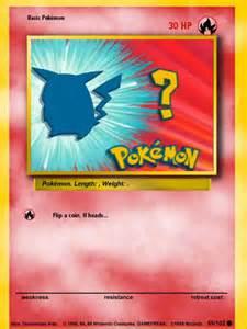 Make Your Own Pokemon Card Com