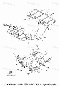 Yamaha Atv 2014 Oem Parts Diagram For Guard